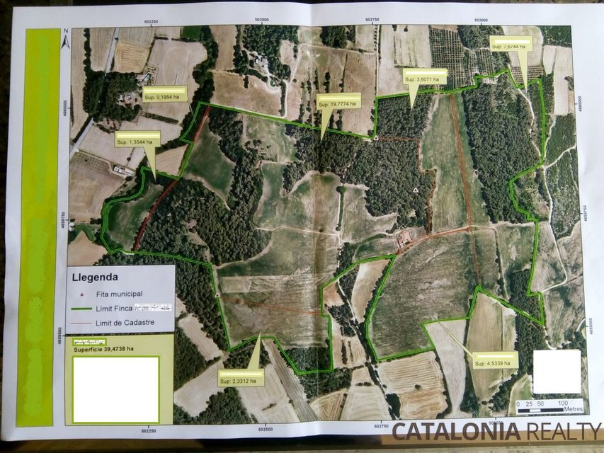 Estate for sale in Girona, Spain. Thermal Water Spa Project