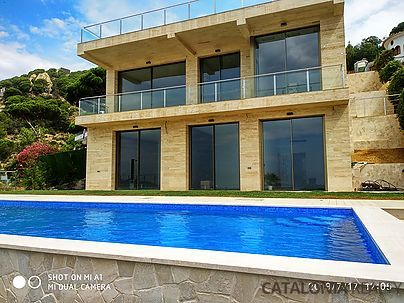 Luxury house for sale, brand new in Lloret de mar, Costa Brava, Spain
